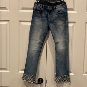 Miss Me Cropped Boot Jeans Sz 27 BNWOT